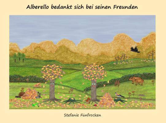 Alberello bedankt sich bei seinen Freunden
